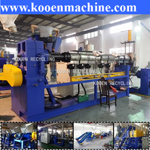 plastic pellet / granules extruder with competitive price