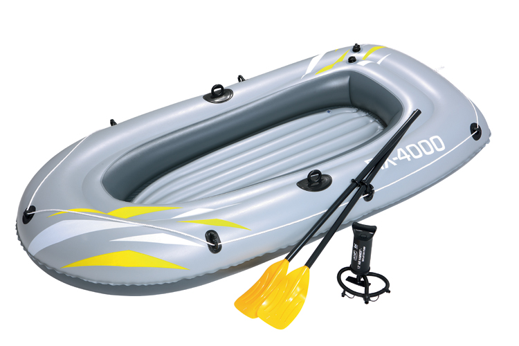 "BestWay 61"" x 37"" RX-2000 Raft Inflatable boat fishing"