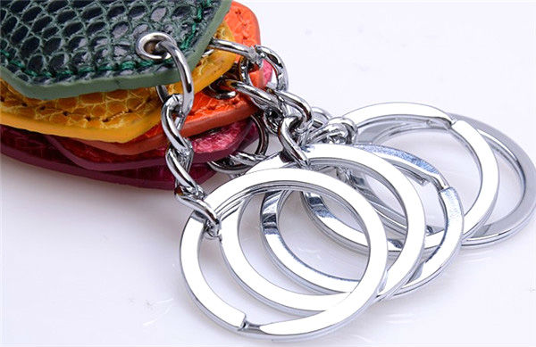Lizard Leather Key Chain Custom Key Chain Wholesale