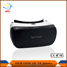 2017 Newest Google Cardboard vr OEM 3d glasses with remote control