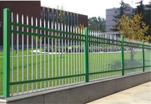galvanized pipe security iron fence