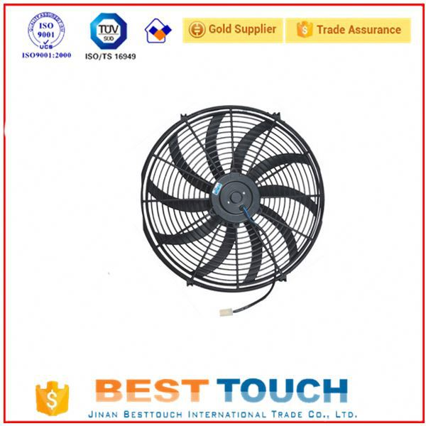 Aluminum copper condenser assembly price of radiator replacement radiator cooling fan with motor electric motor cooling fan