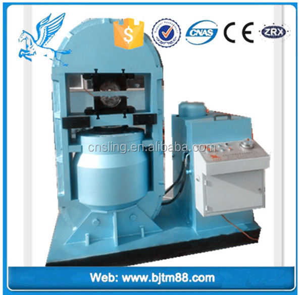 Chinese manufacturer-hydraulic steel wire rope Aluminum sleeve press machine