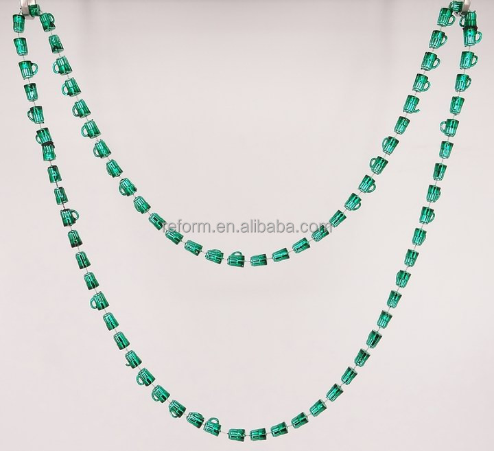 48 inches 12mm Beer Mug necklaces Custom colors in Pearl Opaque Metallic Carnival Bar & Pub Beer Party Mardi Gras Beer Mug beads