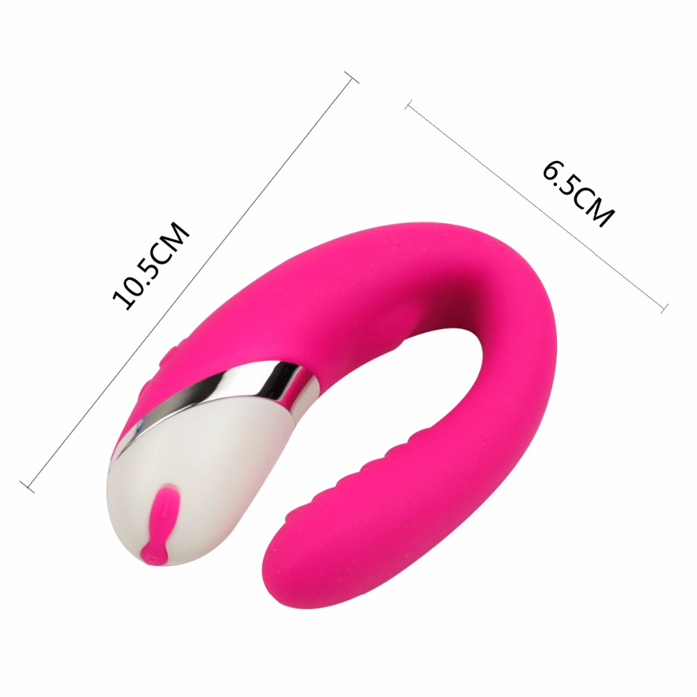 2016 Hot Sale Pink Vibrator Artificial Penis G-spot Clitoris Massager Sex Products Sex Toy for Women
