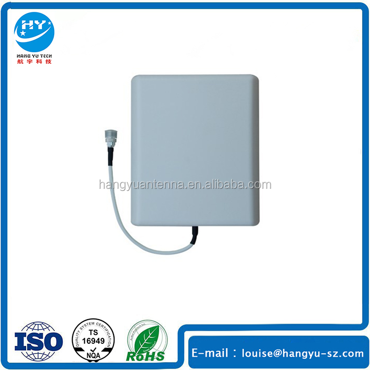 425MHZ VHF Directional Wall Mount Flat Patch Panel Antenna Wiht N-<strong>K</strong> Connector