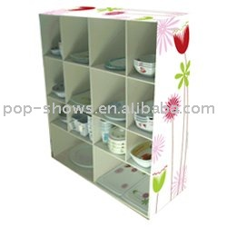 cardboard display rack/snack display racks
