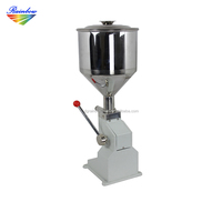 Small scale high accuracy manual nail polish bottle filling machine