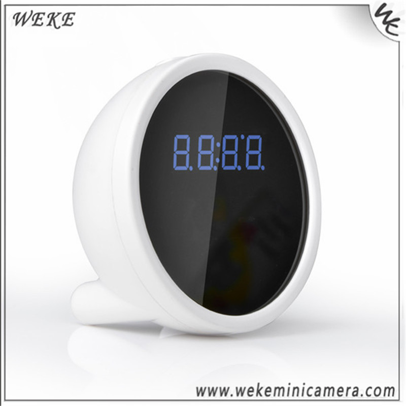 HD 1080P Wireless Security Camera Clock Cctv Wirless Camera With Wifi Function Wide Angle