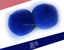 2017 factory direct supply 6cm colous rex rabbit fur ball pompoms DIY rabbit fur kecyhain pendant bag charms ornaments tmq-89
