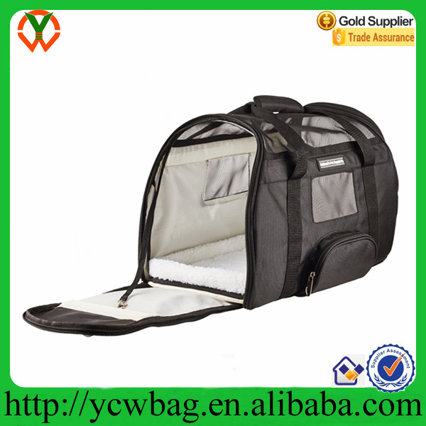 Wholesale high quality Deluxe dog travel bag Pet Carrier