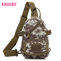 Suitable for men's new style nylon casual mens sports chest bag and messenger bag shoulder bag