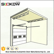 SUKE aluminum front door and auto sliding door