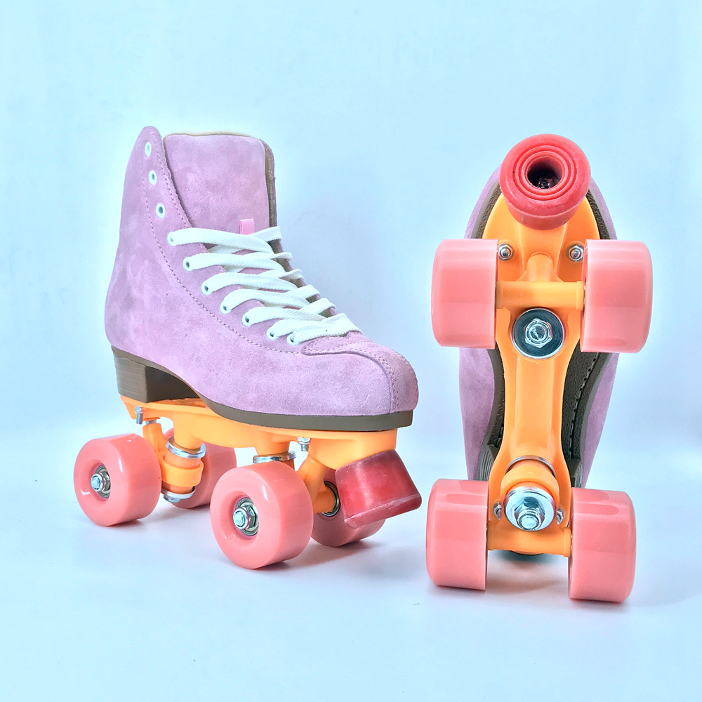 Fashion Good High Quality 4 Wheels Personal Or Rental Rink Professional Quad Roller Skate Soy Luna