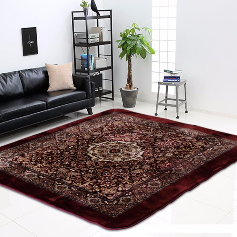 modern design 3d needle felt carpet for prayer room