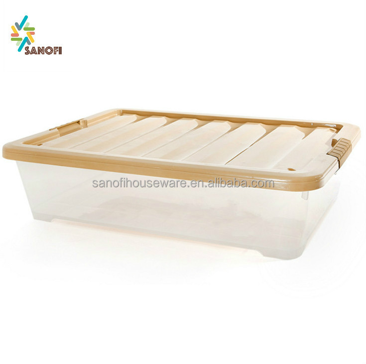 High quality plastic storage boxes laundry clothes storage container