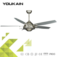 Modern contemporary without light ceiling fan for decoration 52-YJ204A