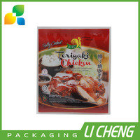 Heat seal food grade plastic frozen chicken packaging bag