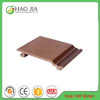 Prefab houses pvc wood wpc exterior wall panel cladding