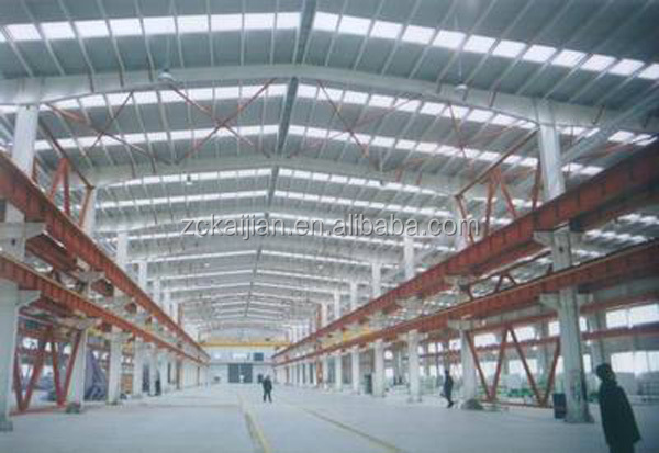 construction design steel structure warehouse / long-span steel structural buildings