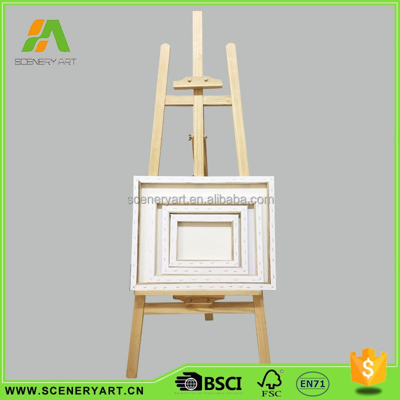 Factory directly tall wooden easel