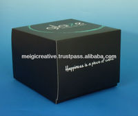 Customized One-Piece Cupcake Carton Box, Food Packaging