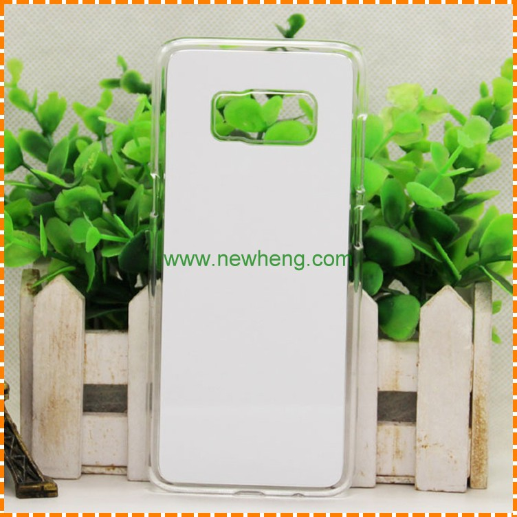 Heat transfer print 2d Sublimation Blank Pc case for Samsung Galaxy s8 plus
