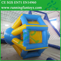 Water Pool Inflatable Hamster Roller Wheel, Water Park Inflatable Hamster Roller For Adults