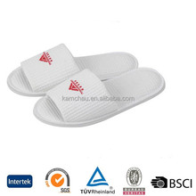 Wholesale Custom Disposable Indoor guest luxury soft rubber plain hotel slippers