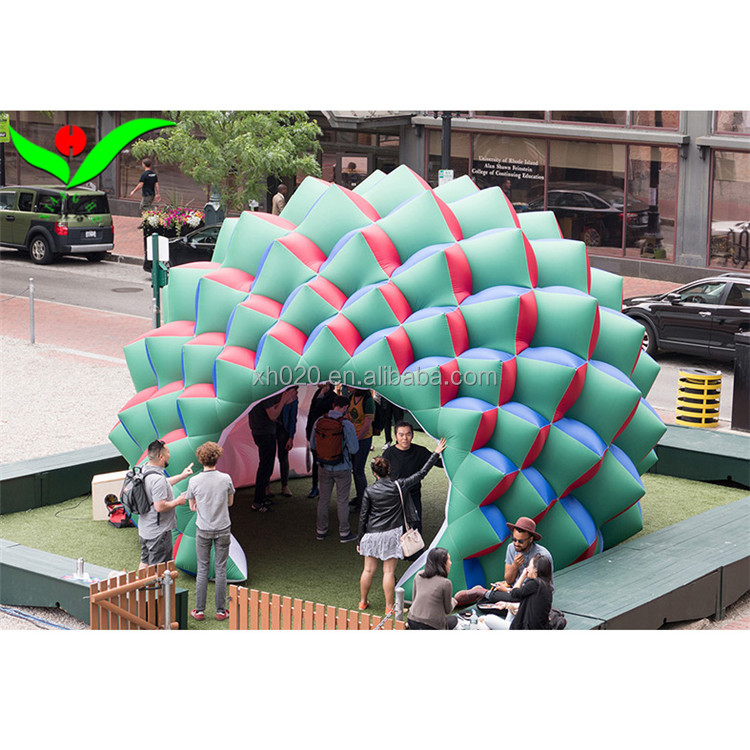 Attractive air dome inflatable tent geometric structure for sale