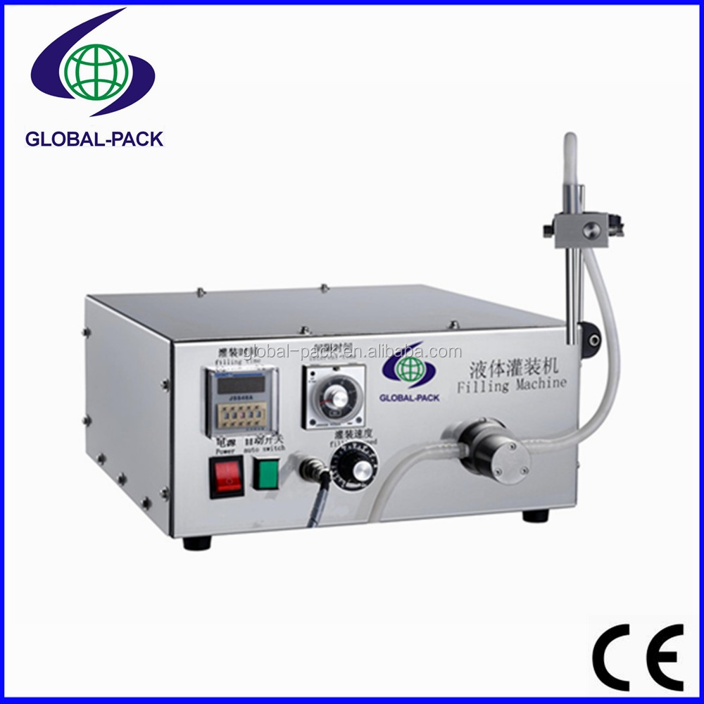 GPB-1B Automatic Small multi heads stainless steel pump liquid type products filling machines