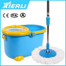 2015 newest 360 easy new easy life floor QQ mop with dry clea bucket beasy operation system hottest selling with certification
