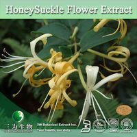 Favorable Price Flos Lonicerae Extract,Honeysuckle Extract,Lonicera Caprifolium Extract Powder