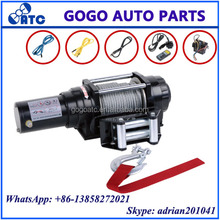 high quality truck jeep winch 4500lb mini 12v 4x4 electric winch