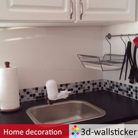 Self adhesive waterproof removable kitchen wall tiles for wholesale