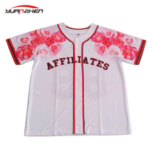 custom baseball jersey sublimation printing with team logo and number no minimum order