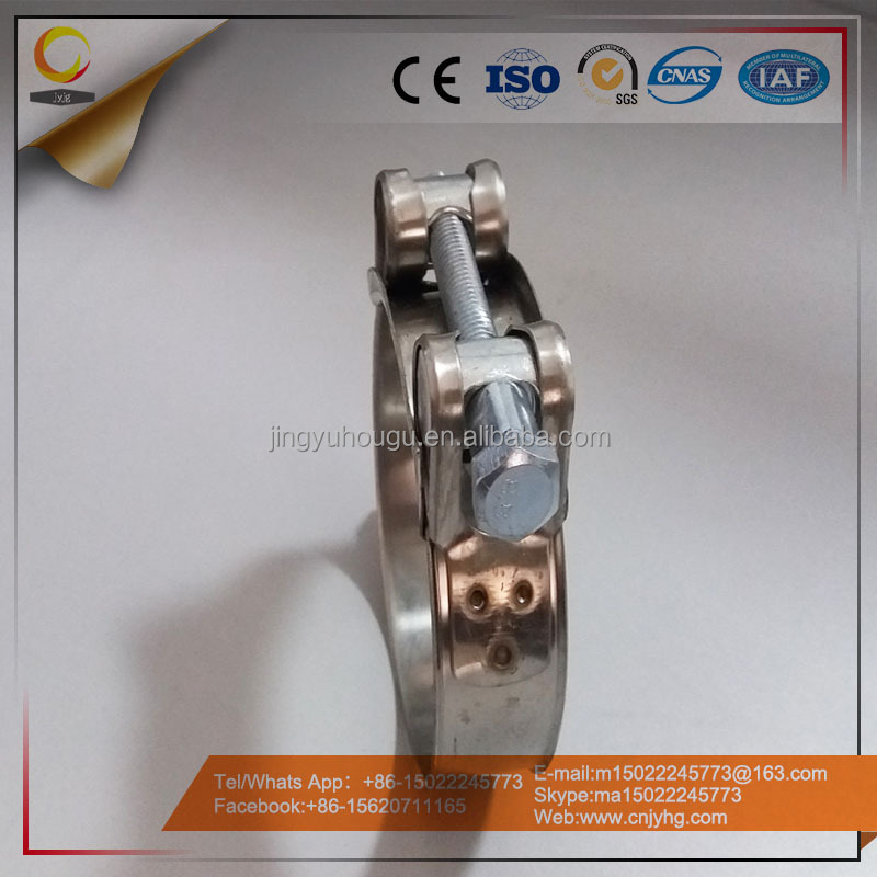 Pursue High Stainless Steel Clamp Rings And Heavy Duty Hose Clamp