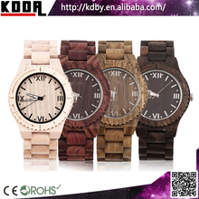 customize quemex watches quartz water resistant bobo bird wooden watches hot