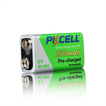 Low self discharge 9v 250mAh NI-MH rechargeable battery