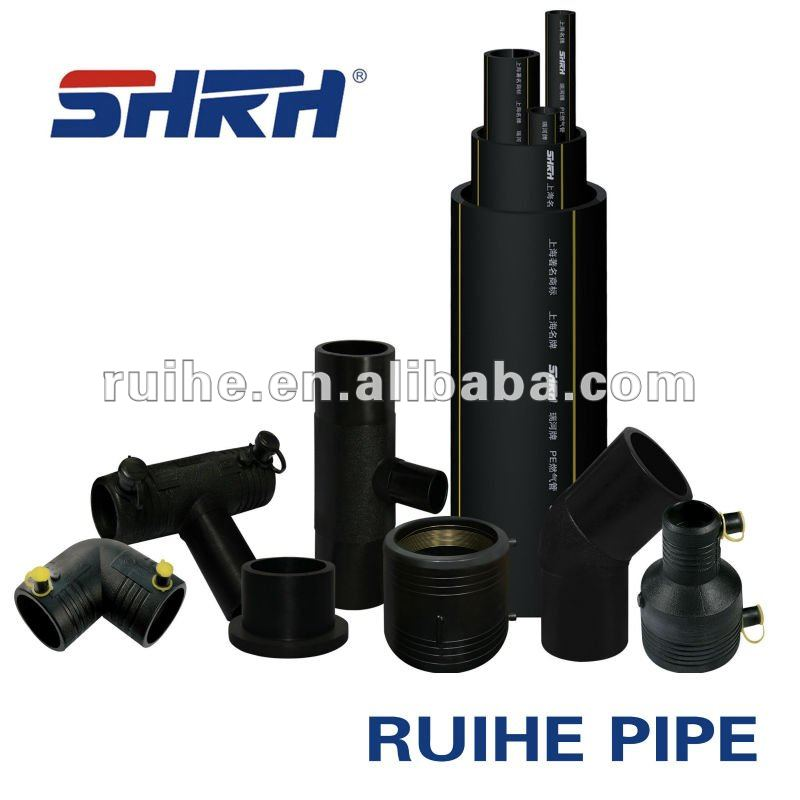small diameter water supply pipe PE80 100