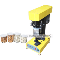 Table Top Electric Plastic Tin Can Sealing Machine