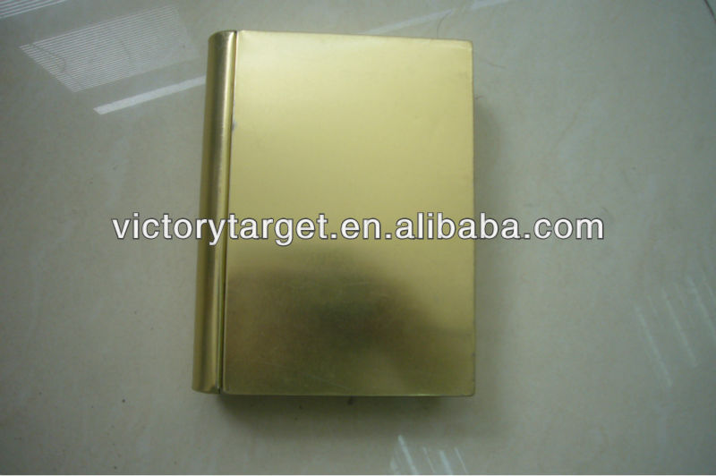 book shape metal tin box container wholesale