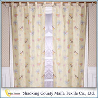 2016 New design Hot selling sheer window curtain fabric
