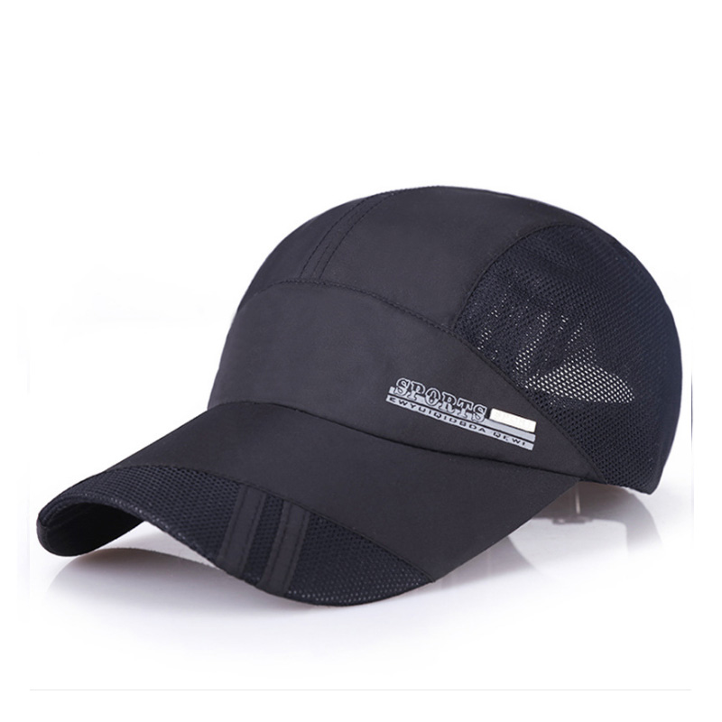 Summer Sport Mesh Baseball <strong>Cap</strong> Outdoor Sun Quick Dry Breathable Hats Adjustable Waterproof Quick-drying Visor <strong>Cap</strong>