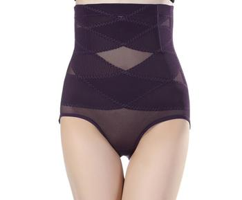 Women's firm control shapewear waist pantie high waist briefs