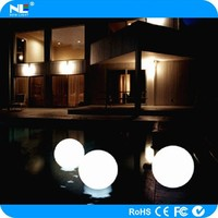 IP68 waterproof LED glowing floating mood light ball / Fancy color change LED magic ball light