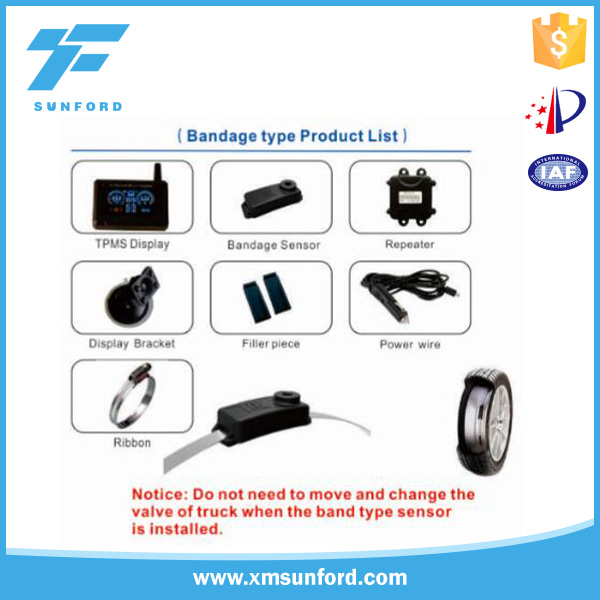 TPMS belt for sensor/TPMS connect to PC software/TPMS pressure sensor