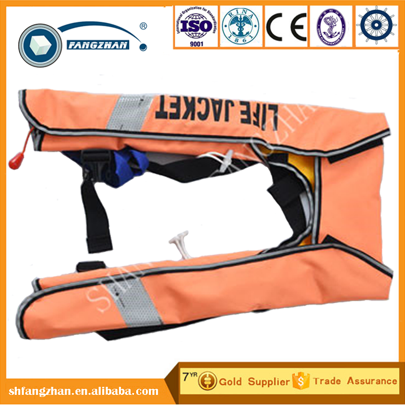adult inflatable life vest