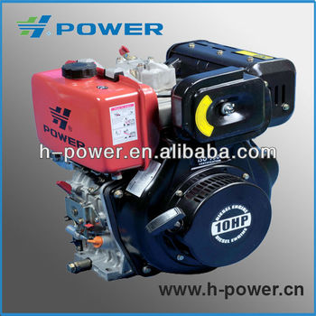 10HP Air Cooled Diesel Engine HP186FAE (CE,EPA,CSA)