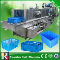High efficiency automatic plastic container cleaning machine